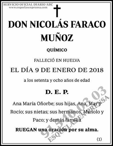 Nicolás Faraco Muñoz